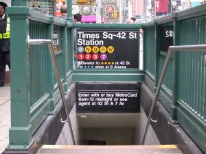 Times Square Subway #1