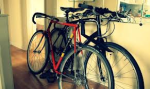 Bicycles in Hallway